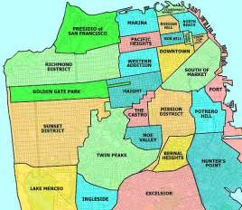 Map Of San Francisco Districts by How To Find An Apartment In San Francisco Justinsomnia