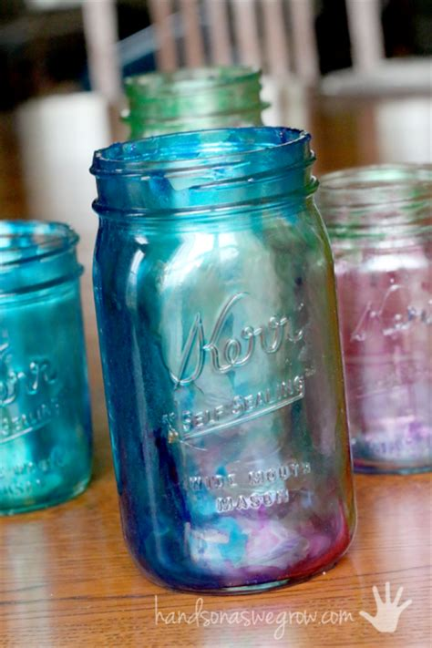 jar crafts for tinted jar mother s day craft totally green crafts