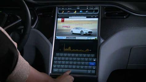Tesla Touchscreen The Model S 17 Quot Touchscreen Display