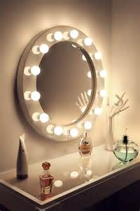 Large Makeup Mirror With Lights Uk High Gloss White Makeup Mirror With