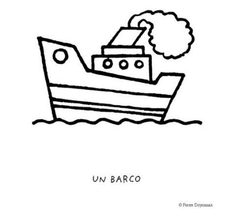 imagenes de un barco para colorear dibujos infantiles barco imagui