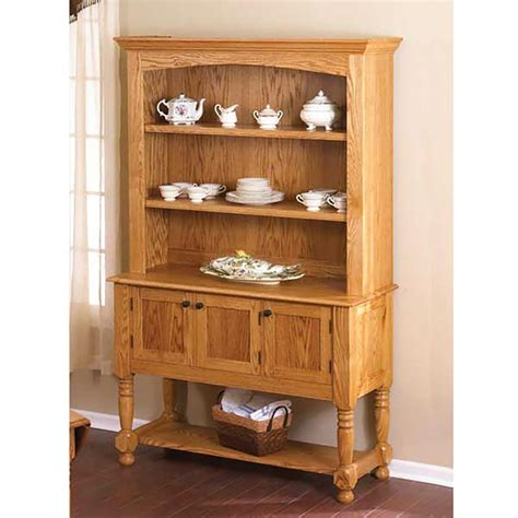 hutch woodworking plans classic country oak hutch woodworking plan from wood magazine
