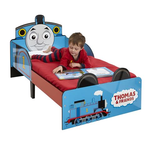 thomas and friends bed thomas friends snuggletime mdf toddler bed tank engine