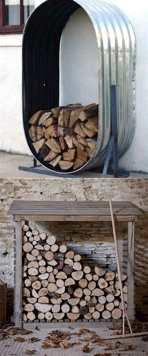 fab firewood rack  storage ideas  piece