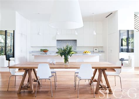 The Helena May Dining Room by Step Inside Architect Shay Zak S Streamlined St Helena Retreat San Francisco Cottages