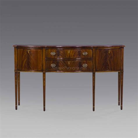 dining room side board formal hepplewhite style mahogany sideboard for the dining