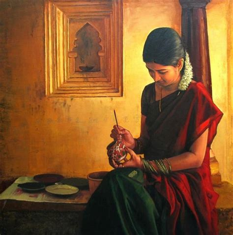 Kitchen Gift Ideas For Mom by Tamil Entertain Realistic Oil Painting