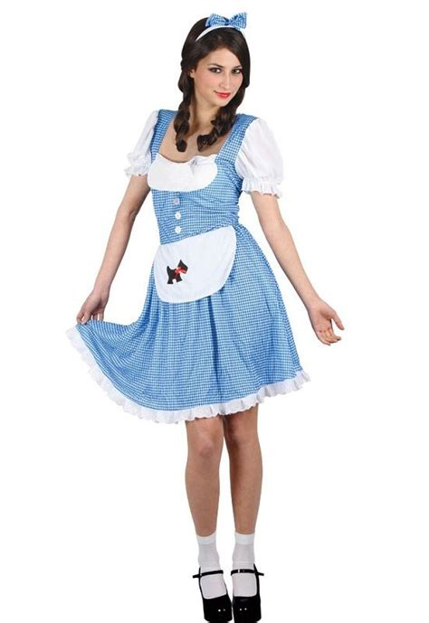 Oz Dres Mickey Whiite country dorothy costume ef2186 dorothy wizard of oz costume