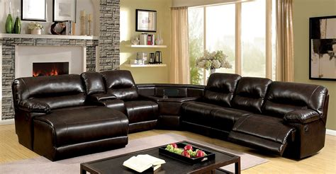 The Living Room Furniture Store Glasgow - glasgow reclining sectional w wedge table furniture of
