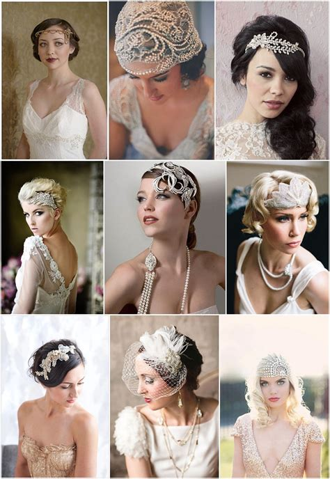 Vintage Style Wedding Hair Accessories by Bridal Accessories Pinspiration