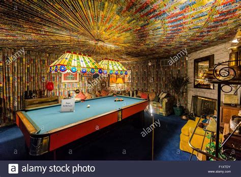 graceland pool room united states tennessee graceland elvis s house stock photo royalty free