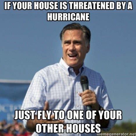 Romney Meme - mitt romney hurricane avoidance tips daily mail online