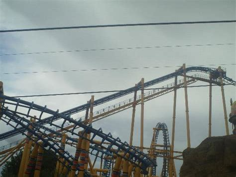 the kumali the roller coaster at flamingo land