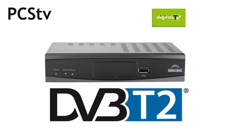 Vt6102 Set Top Box Dvb T2 horizons dvb t2 receiver unboxing i test pcstv
