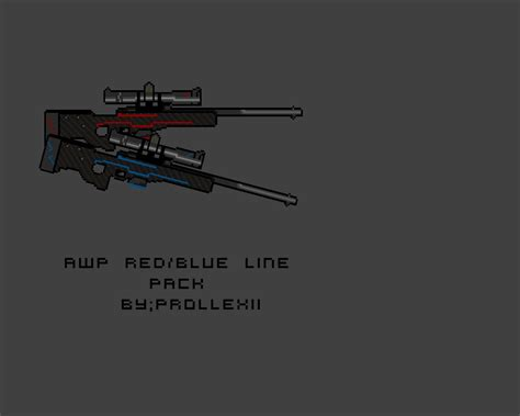 Csgo Awp Outline by Awp Redline Counter Strike 2d Gt Skins Gt Rifles Gt Awp Gamebanana