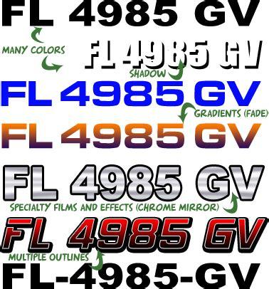 florida boat registration placement florida boat registration numbers fl lettering