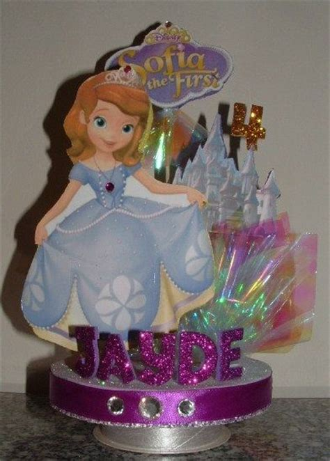 29 best images about sofia the first centerpiece ideas on