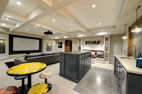 houzz media room media room contemporary media room