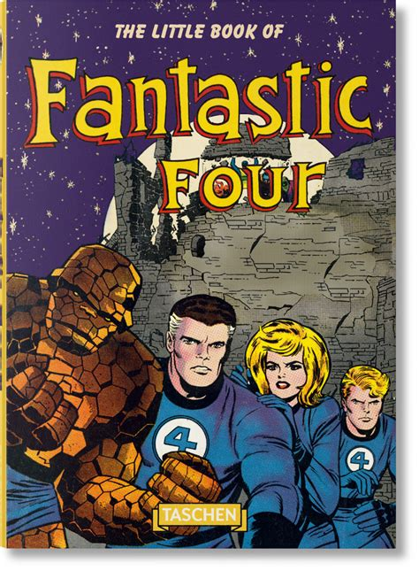 the book of fantastic four taschen books