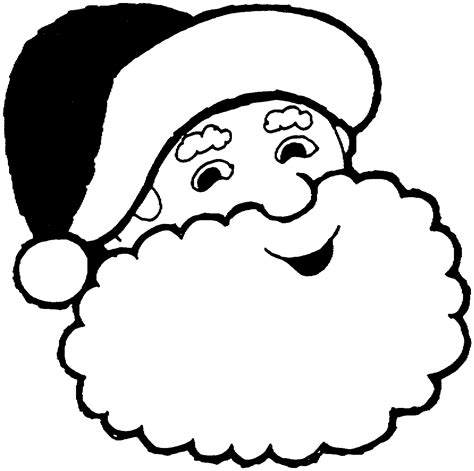 santa template printable blank santa claus free large images