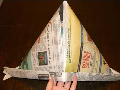 Make A Pirate Hat Out Of Paper - how to make colonial hats out of paper ehow