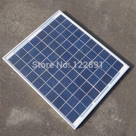Solar Panel Polykristalin Sinyoku 20wp aliexpress buy 20w 18v polycrystalline silicon solar panel for 12v photovoltaic power home
