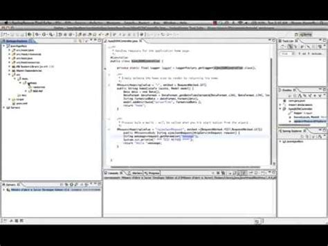 rest tutorial java youtube java spring tutorials rest service with jquery ajax json