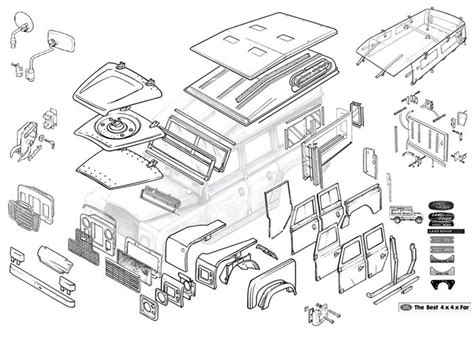 land rover parts diagram 612 best land rover series images on landrover