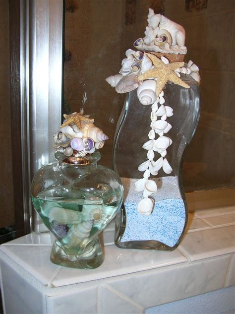 seashell themed bathroom decor 108 best sea shells sand in vases images on