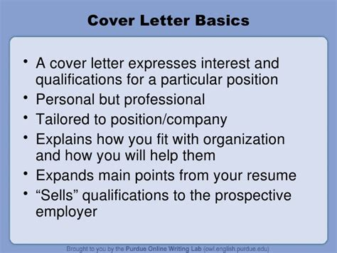how to write a cover letter purdue cover letter for resume owl purdue top essay writing