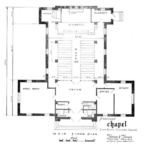 Small Chapel Floor Plans | small church plans and designs joy studio design gallery