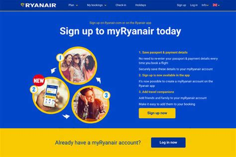 breaking you now need a ryanair account to buy flights from the airline travel news travel