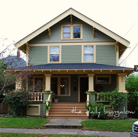 craftsman bungalow color schemes studio design gallery best design