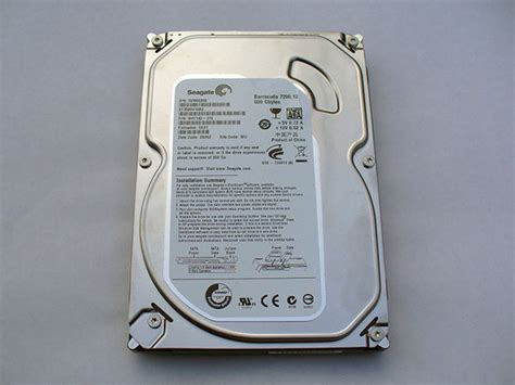 Harddisk Seagate Barracuda 500gb seagate barracuda 500gb pchardware custompc