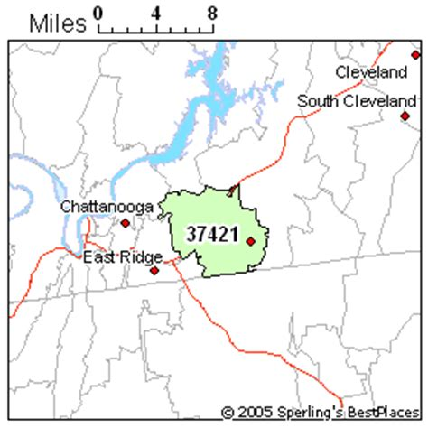 zip code map chattanooga tn best place to live in chattanooga zip 37421 tennessee