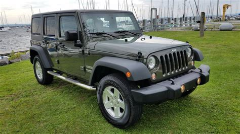 Jeeps For Sale In Ny 2015 Jeep Wrangler Unlimited Sport For Sale In Upstate