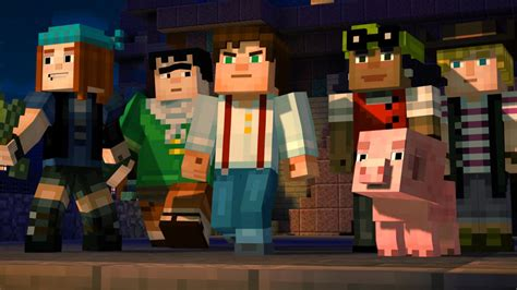 minecraft story mode icxm net minecraft story mode episode 1 releases october 13