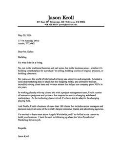 Letter Of Interest Vs Cover Letter