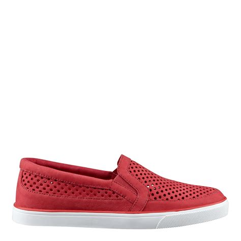 nine west brodie slip on sneakers in pink lyst