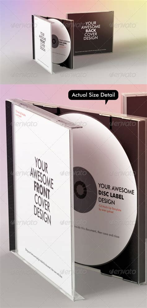 25 Best Premium Psd Cd Dvd Cover Mockup Templates Web Graphic Design Bashooka Cd Mockup Template