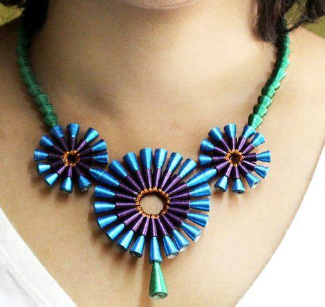latest beautiful easy paper quilling jewellery designs