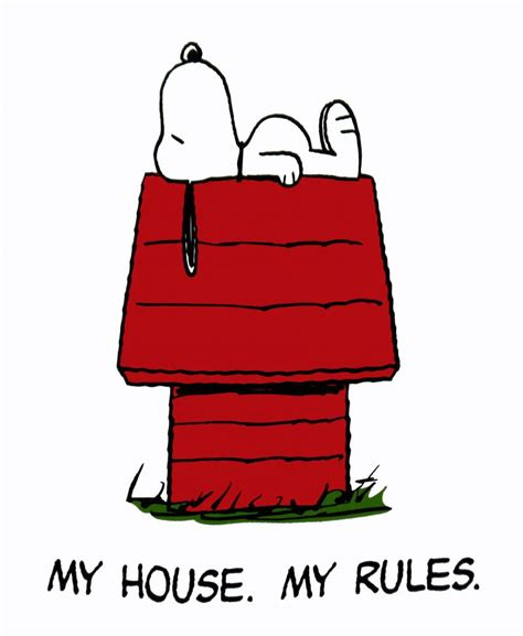 snoopy t shirt my house my rules snoopn4pnuts com