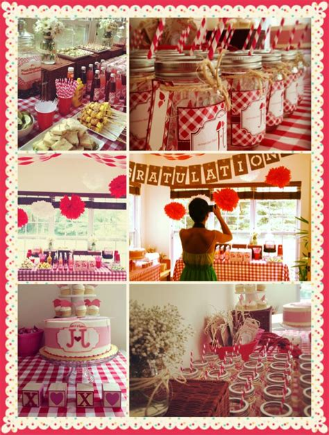 Country Themed Baby Shower by Country Picnic Theme Bridal Shower Bridal Shower Country