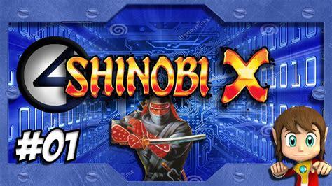 Os X Shinobi detonado shinobi x sega saturn parte 1