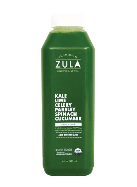 Daily Detox Cleanse Drink by Daily Detox Zula Juice
