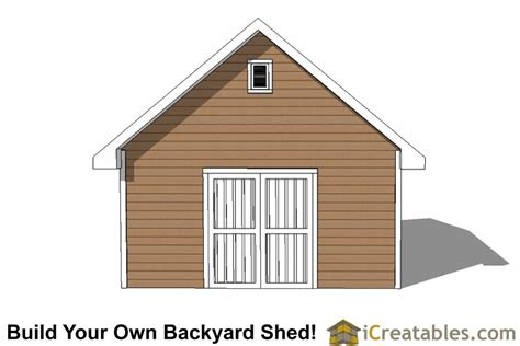 Traditional Barn Plans by 16x20 Traditional Shed Plans Build Your Own Large Shed