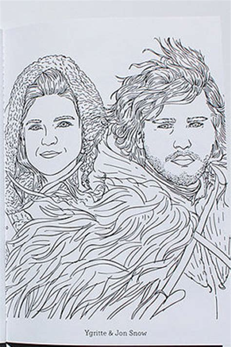 thrones colouring book myer of thrones coloring book