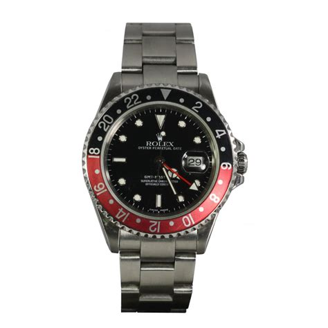 mens pre owned rolex gmt master ii 16716