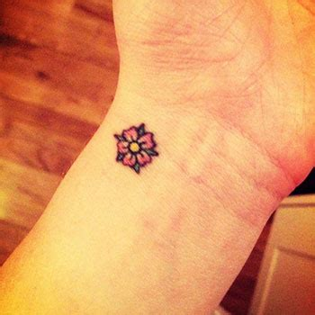 small sunflower tattoo on wrist flower wrist tattoos designs ideas and meaning tattoos