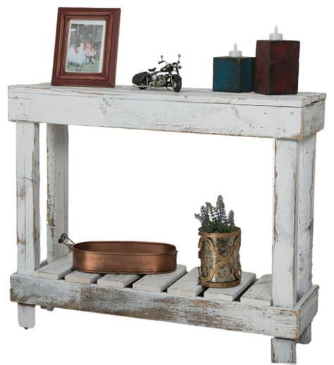 white farmhouse console table barnwood entry table farmhouse console tables by
